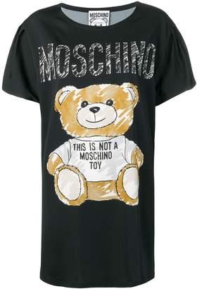 Moschino teddy print T-shirt dress