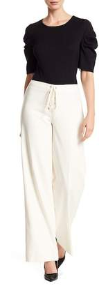 Vince Camuto Laced Wide Leg Trousers