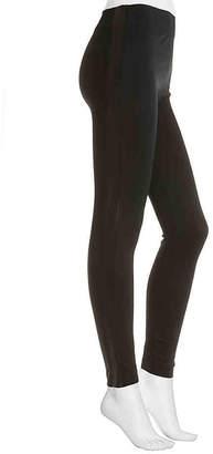 Nine West Faux Leather Side Stripe Leggings - Women's