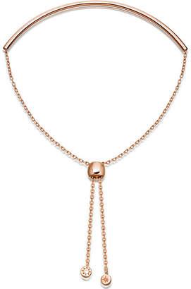 Astley Clarke Cylinder Kula Biography 18ct rose-gold sterling silver bracelet