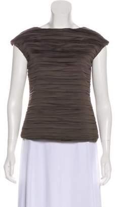 La Petite S***** Pleated Short Sleeve Top Pleated Short Sleeve Top