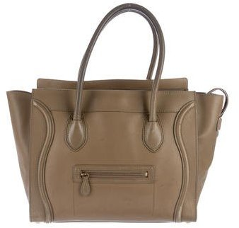 Céline Shoulder Luggage Tote