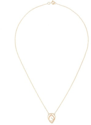Aster Natalie Marie 9kt yellow gold necklace