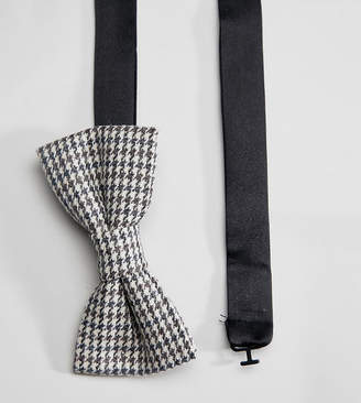 Heart & Dagger Bow Tie In Dogstooth