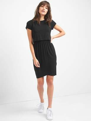 Gap Maternity nursing t-shirt dress
