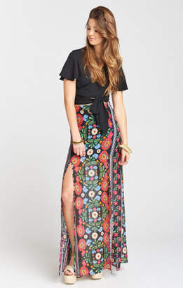 MUMU Mick Double Slit Skirt ~ Mexicali