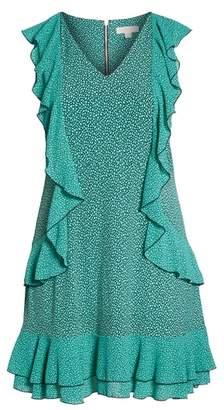 MICHAEL Michael Kors Cascade Ruffle Dress