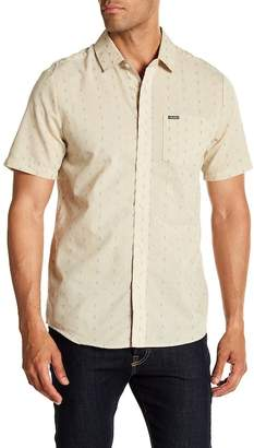 Volcom Rollins Short Sleeve Modern Fit Print Woven Shirt