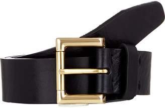 Barneys New York Men's Distressed Leather Belt