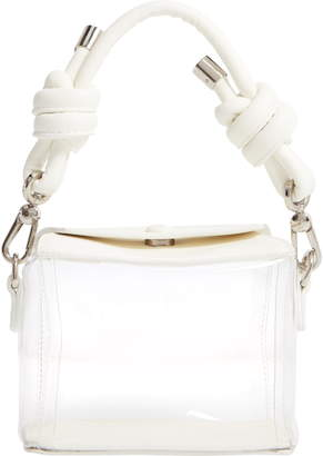 clear Knotty Plastic Takeout Top Handle Bag