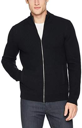 Theory Men's Rovira Full Zip Wool Sweater