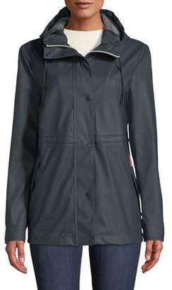 Hunter Lightweight Rubberized Waterproof Rain Jacket