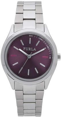 Furla 35mm Metropolis Bracelet Watch, Purple