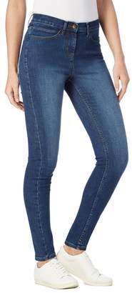 Casual Club The Collection - Light Blue Mid Wash Slim Leg Jeggings