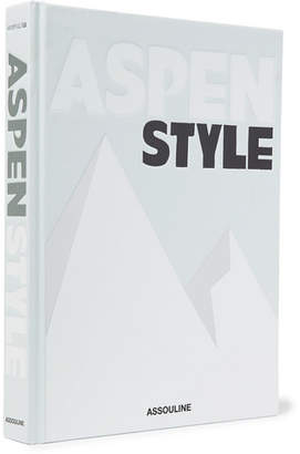 Assouline Aspen Style Hardcover Book