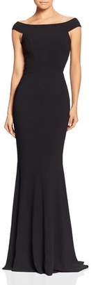 Dress the Population Jackie Off-the-Shoulder Gown