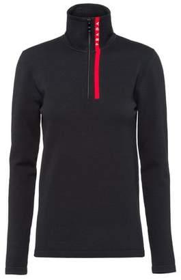 Prada Nylon Turtleneck Sweater