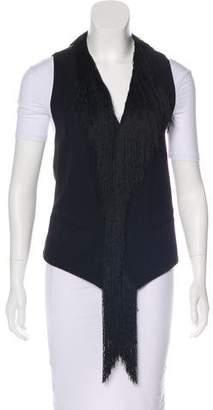 Ann Demeulemeester Fringed Wool Vest