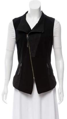 Improvd Leather & Wool Vest