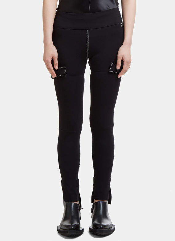 Alyx Strap Leggings in Black