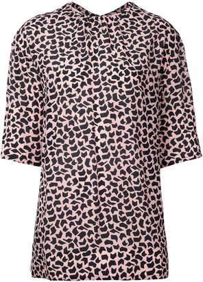 geometric print long sleeve blouse - White Marni For Cheap Price JaC9hUq5