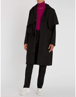 Chalayan Asymmetric wool-blend coat
