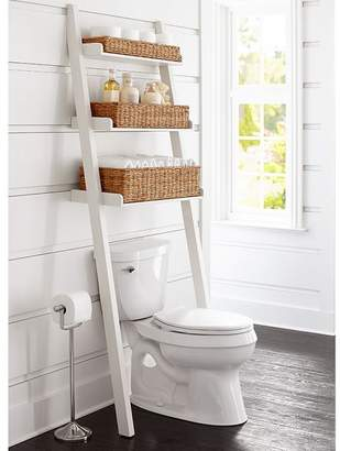 Pottery Barn Ainsley Over-the-Toilet Ladder with Baskets