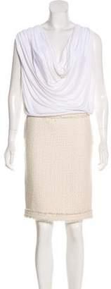 Jay Ahr Sleeveless Midi Dress