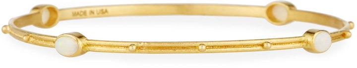 ArmentaArmenta 18k Yellow Gold Opal Station Bangle