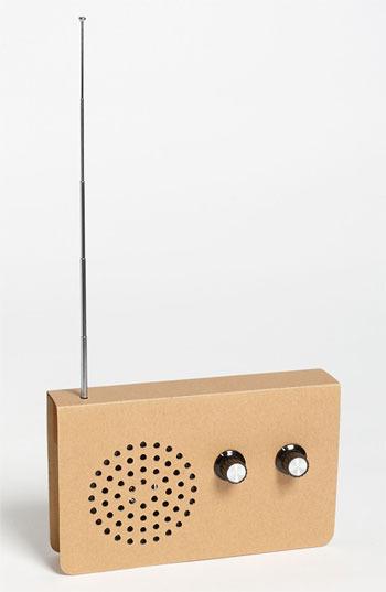 Suck UK Cardboard MP3 Player FM Radio