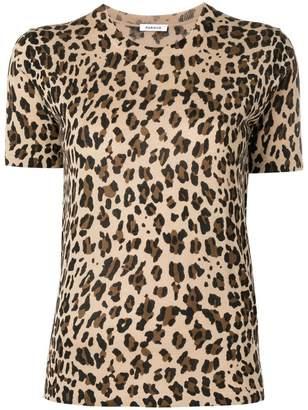 P.A.R.O.S.H. leopard print knit top