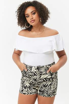 26c1d61a923 Forever 21 White Plus Size Shorts - ShopStyle Canada