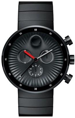 Movado 'Edge' Chronograph Bracelet Watch, 42Mm $1,195 thestylecure.com