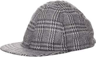 Crown Cap MEN'S PLAID BASEBALL CAP