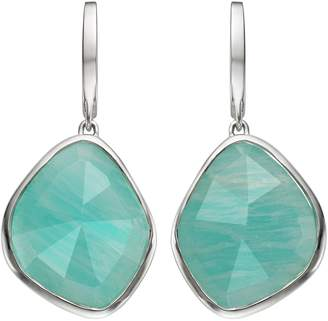 Monica Vinader Siren Large Nugget Amazonite Earrings