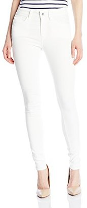 G-Star Raw Women's 3301 Deconstructed Ultra High Skinny White Talc Super Stretch 3D Aged Jean $46.23 thestylecure.com