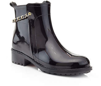 6f199a53f05b HENRY FERRERA Henry Ferrera Womens Relax 200 Rain Boots Water Resistant  Flat Heel Pull-on