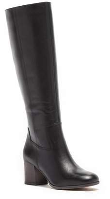 Franco Sarto Anberlin Leather Block Heel Knee High Boot