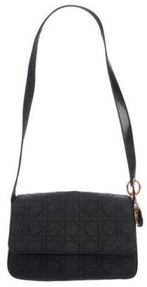 Christian Dior Cannage Nylon Shoulder Bag