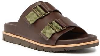 Donald J Pliner Leather Slide Sandal
