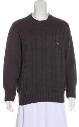 Giorgio Armani Vintage Cable Knit Sweater
