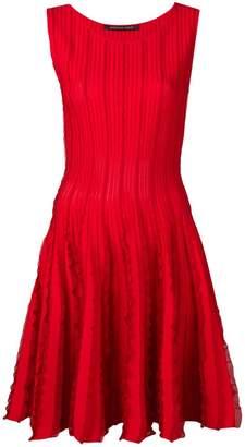 Valenti Antonino micro-ruffled dress
