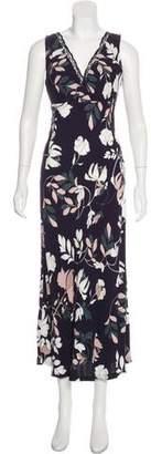 Thakoon Plunge Neckline Maxi Dress