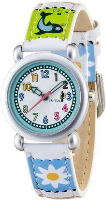 Cactus CAC Girls Watch with Dial and Picture Filmstrip Strap CAC-33-L04