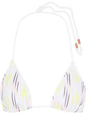 Eberjey Dream Catcher Kate Printed Triangle Bikini Top