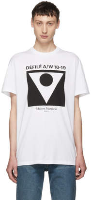 Maison Margiela White Defile T-Shirt