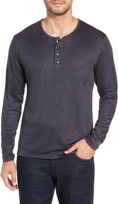Stone Rose Trim Fit Henley
