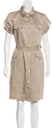 Calvin Klein Collection Collared Midi Shirtdress