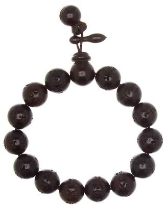März The Round Character Beaded Wood Stretch Bracelet