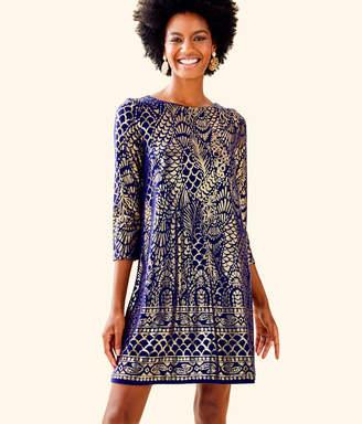 Lilly Pulitzer Ophelia Metallic Swing Dress